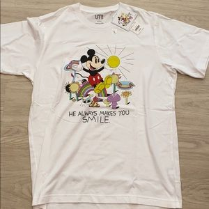 mickey mouse uniqlo tee - new with tags